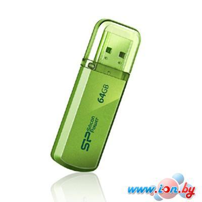 USB Flash Silicon-Power Helios 101 Green 64GB (SP064GBUF2101V1N) в Могилёве