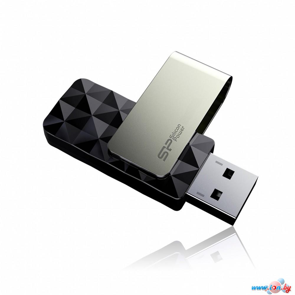 USB Flash Silicon-Power Blaze B30 8GB (SP008GBUF3B30V1K) в Могилёве