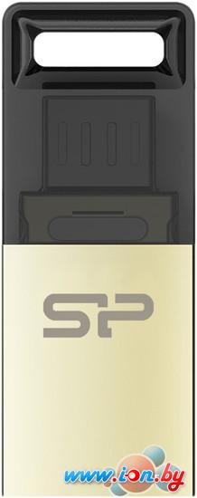 USB Flash Silicon-Power Mobile X10 Gold 16GB (SP016GBUF2X10V1C) в Могилёве