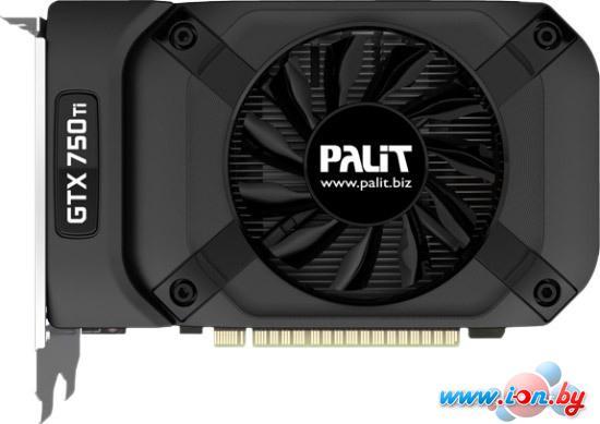 Видеокарта Palit GeForce GTX 750 Ti StormX OC 2GB GDDR5 (NE5X75TS1341-1073F) в Могилёве