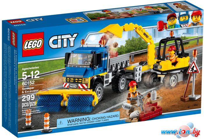 Конструктор LEGO City 60152 Уборочная техника в Бресте