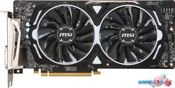 Видеокарта MSI Radeon RX 580 Armor OC 4GB GDDR5 в Могилёве