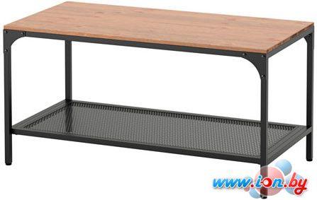 журнальный столик Ikea фьелльбо черный 40360038 купить в