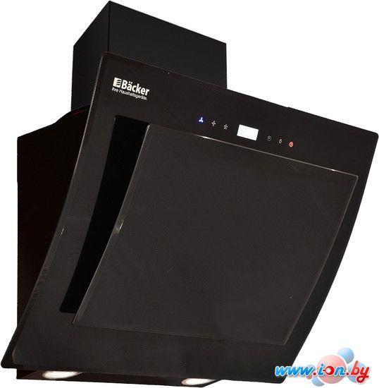 Кухонная вытяжка Backer AH60E-TG8L200 Black Glass в Гомеле
