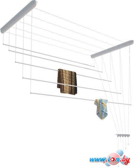 Сушилка для белья Лиана потолочная, пластик белый, 1,1 м (СП-011) в Могилёве