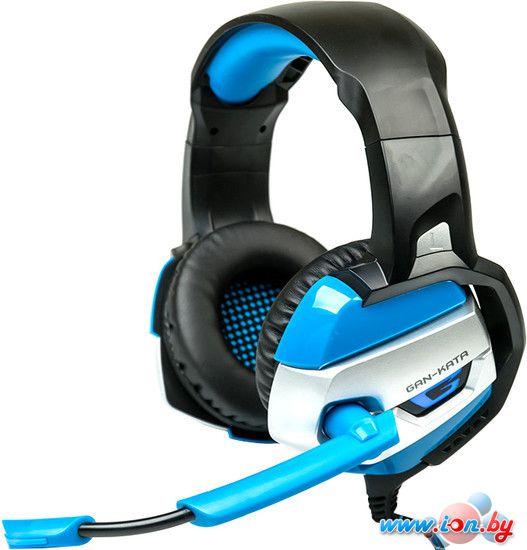 Наушники с микрофоном Dialog Gan-Kata HGK-37L (синий) в Бресте