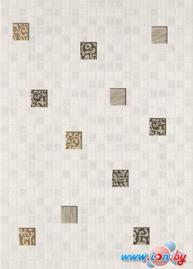Керамическая плитка Березакерамика Декор Квадро мозаика белый 350x250 в Гродно