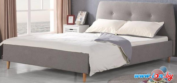 Кровать Halmar Doris 160x200 (серый/ольха) в Бресте