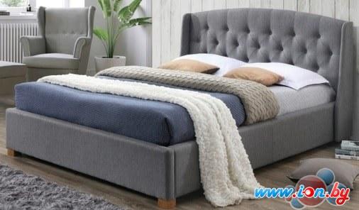 Кровать Signal Hampton 160x200 (серый) в Гродно