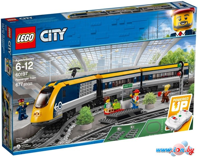Конструктор LEGO City 60197 Пассажирский поезд в Бресте