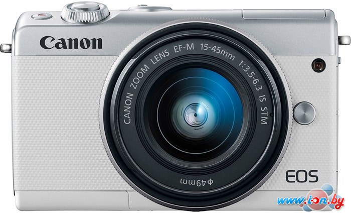 Фотоаппарат Canon EOS M100 Kit 15-45mm (белый) в Гродно