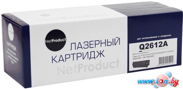 Картридж NetProduct N-Q2612A в Бресте