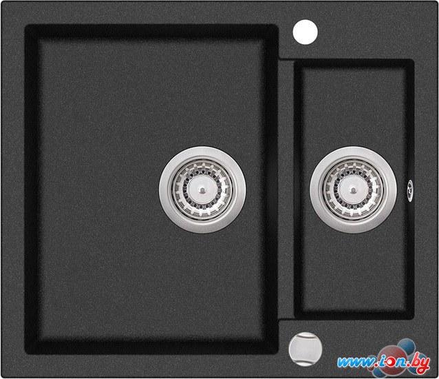 Кухонная мойка Aquasanita Tesa SQT150AW (black metallic 601) в Бресте