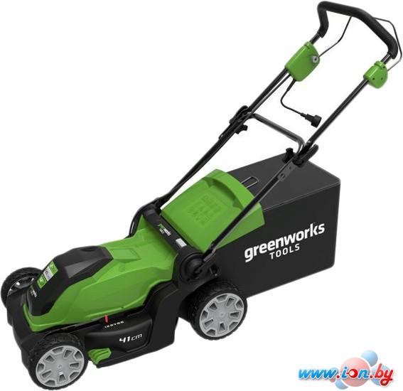 Колёсная газонокосилка Greenworks GLM1241 в Бресте