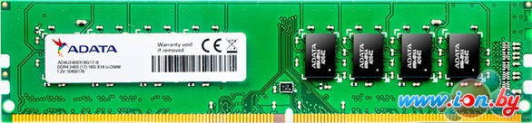 Оперативная память A-Data Premier 4GB DDR4 PC4-21300 AD4U2666J4G19-B в Бресте