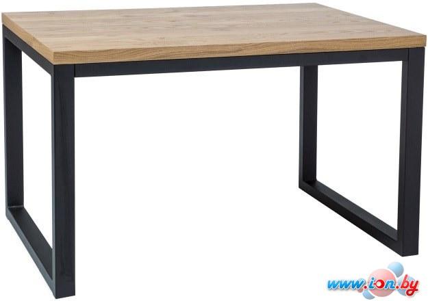 Обеденный стол Signal Loras II 180 (МДФ+шпон, дуб/черный) в Гродно