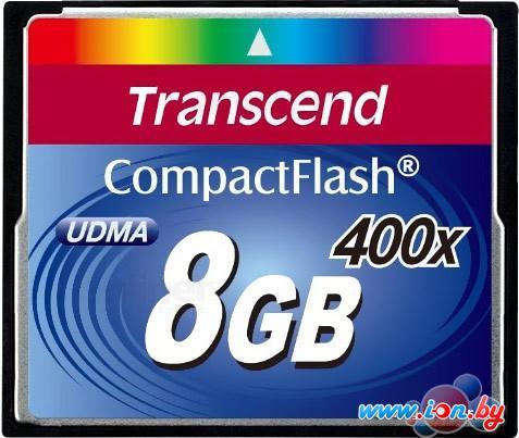 Карта памяти Transcend 400x CompactFlash 8 Гб (TS8GCF400) в Могилёве