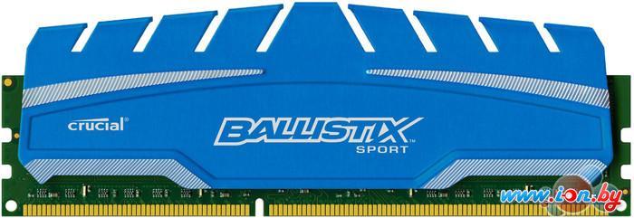 Оперативная память Crucial Ballistix Sport XT 8GB DDR3 PC3-12800 (BLS8G3D169DS3CEU) в Могилёве