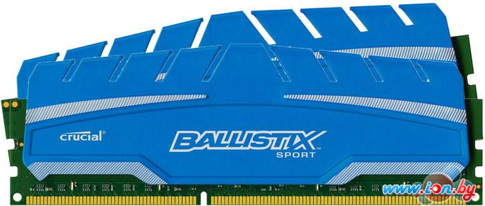 Оперативная память Crucial Ballistix Sport XT 2x4GB KIT DDR3 PC3-14900 (BLS2C4G3D18ADS3CEU) в Могилёве