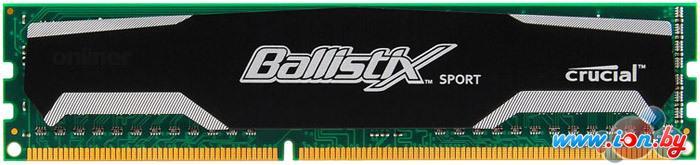 Оперативная память Crucial Ballistix Sport 8GB DDR3 PC3-12800 (BLS8G3D1609DS1S00CEU) в Могилёве