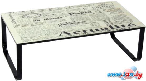 Журнальный столик Signal Taxi II (текст) в Могилёве