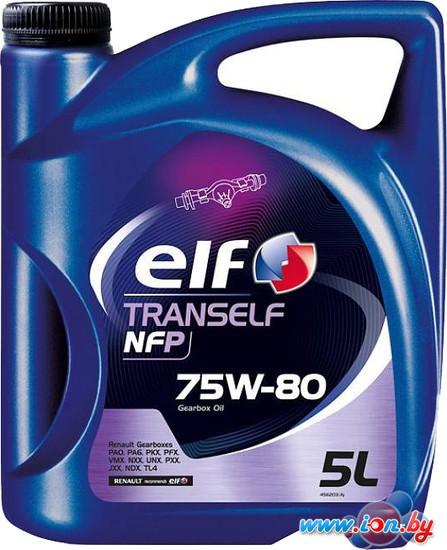 Трансмиссионное масло Elf Tranself NFP 75W-80 5л в Гомеле