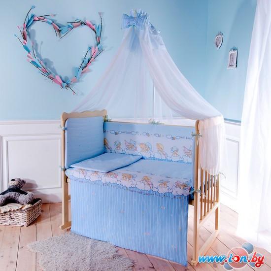 Постельное белье Баю-Бай Мечта К80-М (голубой) 112х147 8 предметов в Гомеле