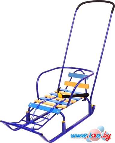 Санки Nika Тимка 8 Комфорт (синий) в Гомеле