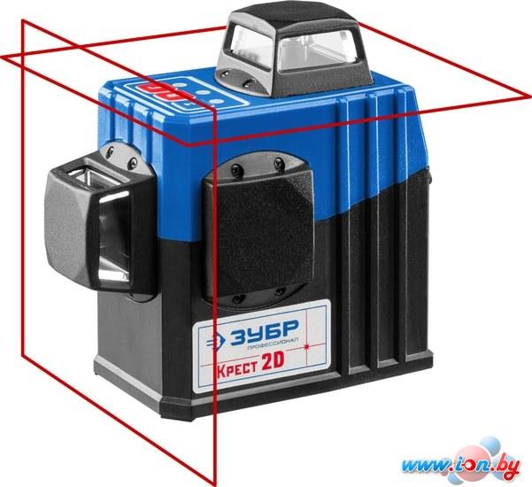 Лазерный нивелир Зубр Крест-2D 34907 в Бресте