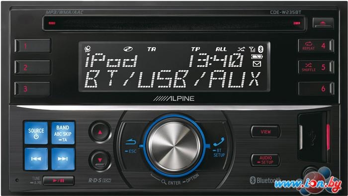 CD/MP3-магнитола Alpine CDE-W235BT в Могилёве