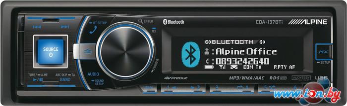 CD/MP3-магнитола Alpine CDA-137BTi в Могилёве