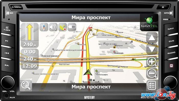 СD/DVD-магнитола Mystery MDD-6270NV в Могилёве