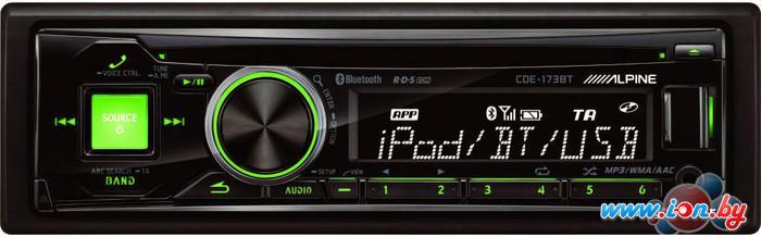 CD/MP3-магнитола Alpine CDE-173BT в Могилёве