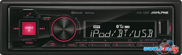 USB-магнитола Alpine UTE-72BT в Могилёве