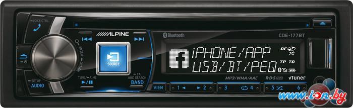 CD/MP3-магнитола Alpine CDE-177BT в Могилёве