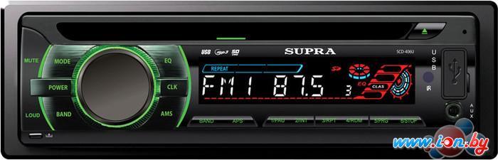 CD/MP3-магнитола Supra SCD-406U в Могилёве