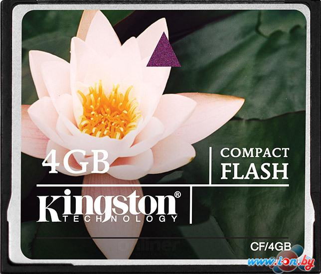 Карта памяти Kingston CompactFlash 4 Гб (CF/4GB) в Могилёве