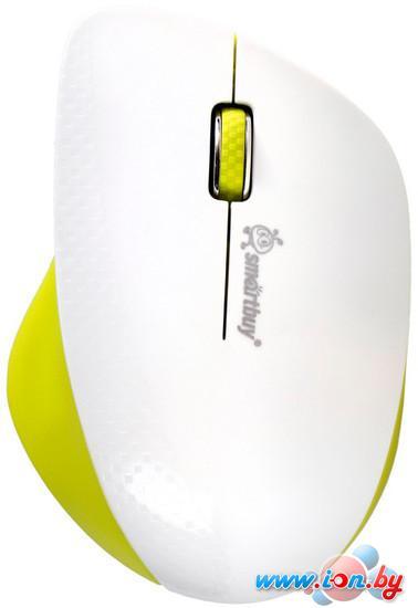 Мышь SmartBuy 309AG White/Lemon (SBM-309AG-WL) в Могилёве