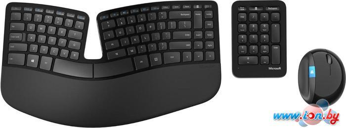 Мышь + клавиатура Microsoft Sculpt Ergonomic Desktop (L5V-00017) в Могилёве