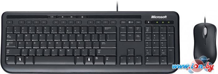 Мышь + клавиатура Microsoft Wired Keyboard Desktop 600 (APB-00011) в Могилёве