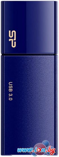 USB Flash Silicon-Power Blaze B05 Blue 32GB (SP032GBUF3B05V1D) в Могилёве