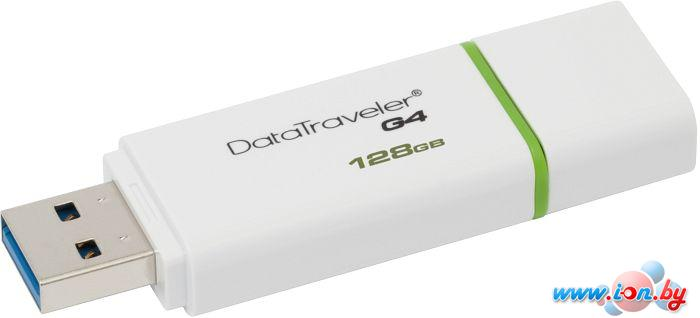 USB Flash Kingston DataTraveler G4 128GB Green (DTIG4/128GB) в Могилёве