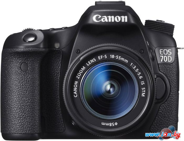 Фотоаппарат Canon EOS 70D Kit 18-55 IS STM в Могилёве