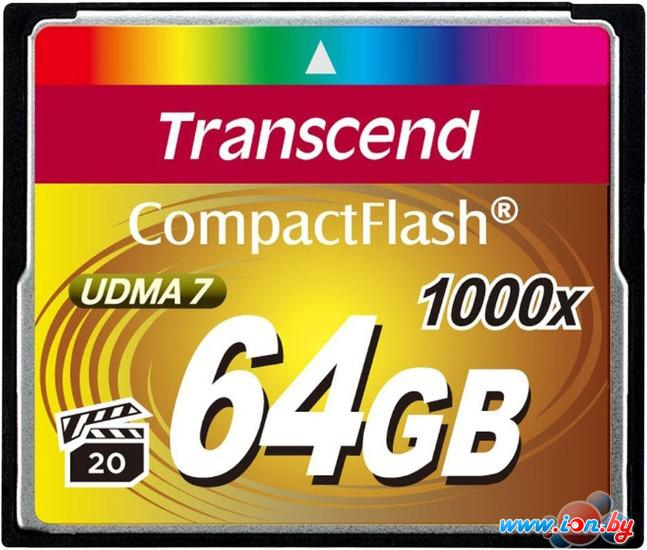 Карта памяти Transcend 1000x CompactFlash Ultimate 64GB (TS64GCF1000) в Могилёве