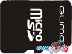 Карта памяти QUMO microSD (Class 10) 4GB (QM4GCR-MSD10-FD-RED) в Могилёве