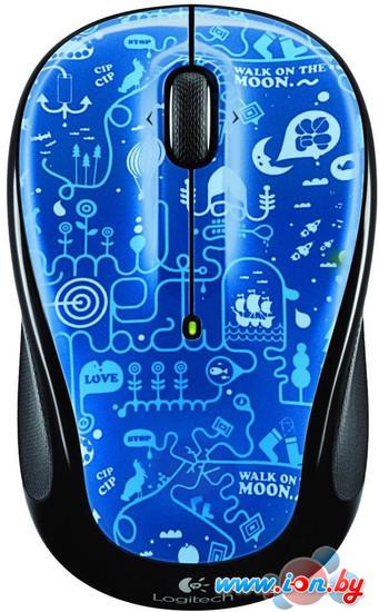Мышь Logitech M325 Blue Smile (910-003268) в Могилёве