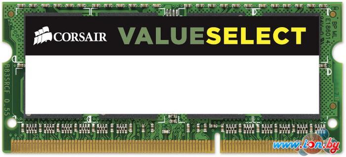 Оперативная память Corsair Value Select 8GB DDR3 SO-DIMM PC3-12800 (CMSO8GX3M1C1600C11) в Могилёве