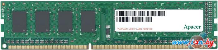 Оперативная память Apacer 4GB DDR3 PC3-12800 (AU04GFA60CATBGC) в Могилёве