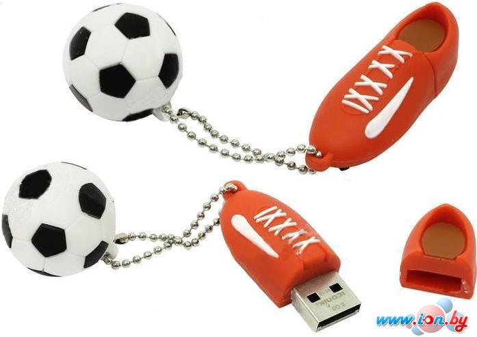 USB Flash Iconik Flash Drive Футбол Red 16GB (RB-FTBRW-16GB) в Могилёве