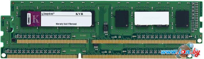 Оперативная память Kingston ValueRAM 2x4GB KIT DDR3 PC3-12800 (KVR16N11S8K2/8) в Могилёве